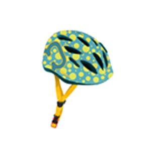 HAMAX čelada SKYDIVE zelena/rumena XS(45-50)