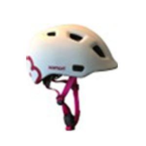 HAMAX čelada THUNDERCAP bela/roza   52-57