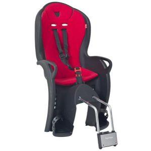 HAMAX otroški sedež KISS črn/rdeča podloga