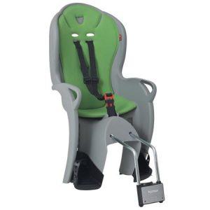 HAMAX otroški sedež KISS siv/zelena podloga