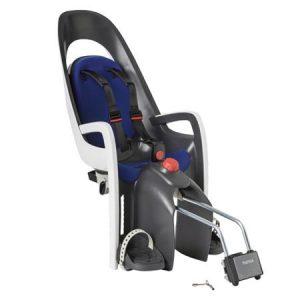 HAMAX otroški sedež CARESS siva/bela/modra podloga (1-pak v svoji embalaži)
