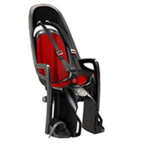 HAMAX otroški sedež ZENITH siv/rdeča podloga (1-pak v svoji embalaži)