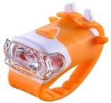 SVETILKA D-LIGHT zadnja LED rdeča belo/oranžna z bat
