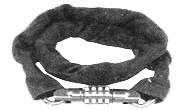 KLJUČAVNICA KABEL na številke 8x900mm nylon črna