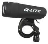 SVETILNI SET Q-LITE sprednja+zadnja svetilka+baterije