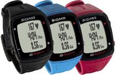 SIGMA URA iD.RUN HR črna GPS