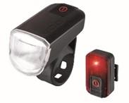 SVETILNI SET LED USB (sprednja+zadnja)