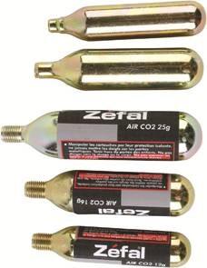 BOMBICA CO² ZEFAL 25g z navojem set 2 kos